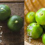 「すだち(酢橘)」と「かぼす」何が違う?